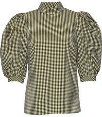 tami blouses short-sleeved grön custommade