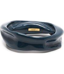 jil sander melting-effect bracelet - grey