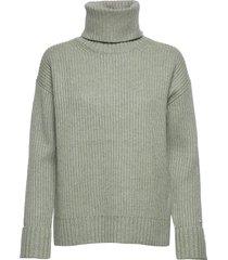 ls turtle neck sweater turtleneck coltrui groen calvin klein