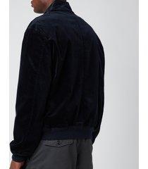 polo ralph lauren men's barracuda corduroy jacket - collection navy - xxl