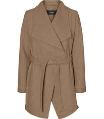 mantel vero moda 10235313 vmcalasissel 3/4 jacket col sepia tint