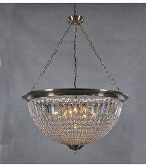 lustre de cristal locarno com 7 lâmpadas