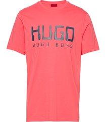 dolive203 t-shirts short-sleeved röd hugo