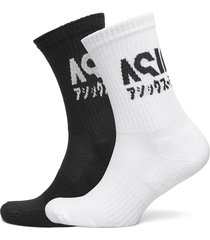 2 ppk katakana sock underwear socks regular socks svart asics