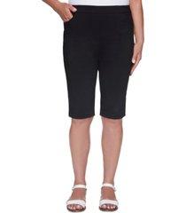 alfred dunner petite classics bermuda shorts