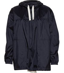 silvia anorak outerwear jackets anoraks blauw wood wood