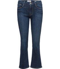 le crop mini boot jeans boot cut blauw frame