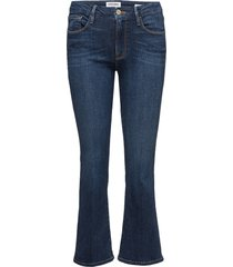 le crop mini boot jeans boot cut blauw frame