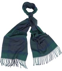 barbour galingale plaid scarf in black watch at nordstrom