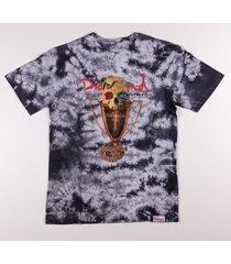 camiseta diamond pirates cup cristal wash tee cinza