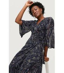omlottklänning billesz long dress