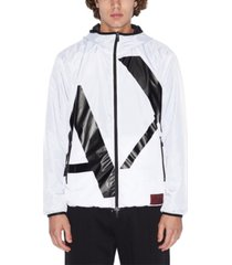 ax armani exchange reversable blouson jacket