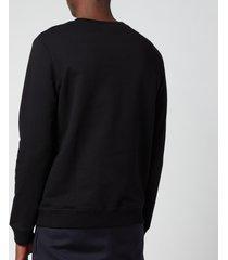 a.p.c. men's item sweatshirt - black - xxl