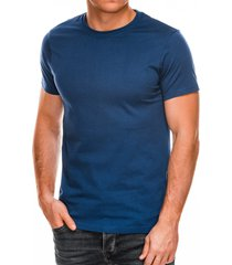 ombre heren t-shirt basic dark blue