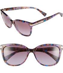 women's coach 57mm retro sunglasses - purple
