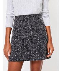 loft petite boucle pocket pull on skirt