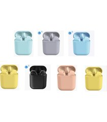 audifonos bluetooth 5.0 inpods 12 iphone android hasta 3 hs continuo