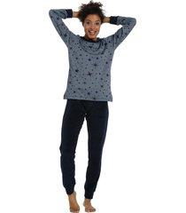 dames pyjama badstof rebelle 21202-467-2-46