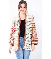 buzo tejido en lana inspiración artesanal