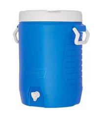 garrafa térmica 18 litros azul com torneira coleman