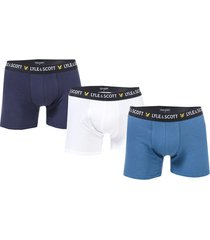mens douglas 3 pack boxer shorts