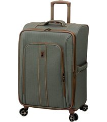 "london fog newcastle softside 24"" spinner suitcase"