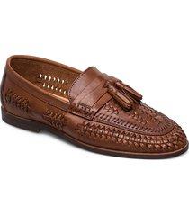 burlingtons loafers låga skor brun dune london