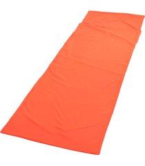 er dormir hoja bolsa liner viaje del sueño saco senderismo tienda de campaña mat padnaranja.