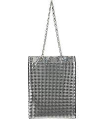 borsa donna a mano shopping tote pixel