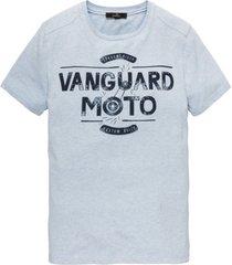 t-shirt vanguard lichtblauw ronde hals