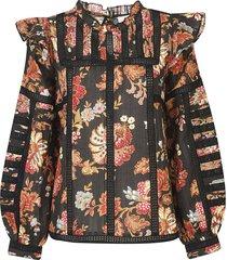 sea pascale sleeve blouse
