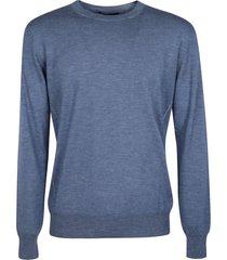 ermenegildo zegna plain ribbed sweater