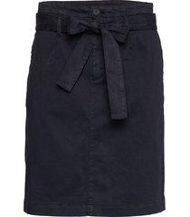 briella-d knälång kjol blå boss