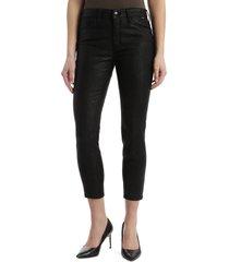 women's mavi tess coated high waist super skinny jeans