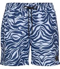 usper p zwemshorts blauw tiger of sweden