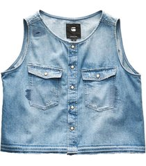 g-star raw 3301 graft rp top wmn s/less d08592-d013-9011
