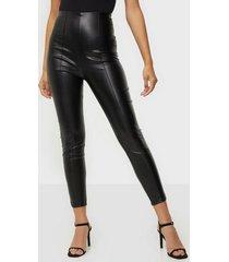 missguided faux leather leggings leggings