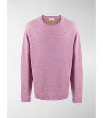 acne studios round neck sweater