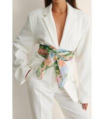 na-kd accessories återvunnen sarong med tryck - multicolor