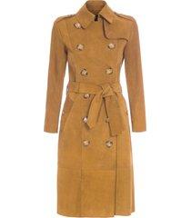 casaco feminino chamois berkley - marrom