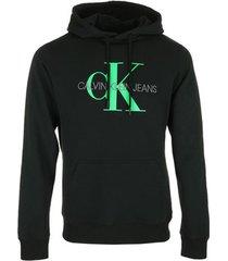 sweater calvin klein jeans vertical logo hoodie