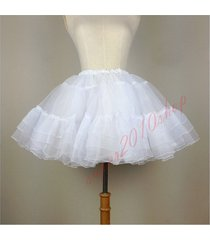 punk lolita cosplay petticoat underskirt vintage a-line puffy fluffy tutu skirt