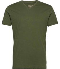 t-shirts t-shirts short-sleeved grön esprit casual