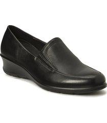 felicia loafers låga skor svart ecco