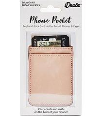 ideco card holder - pink