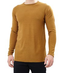 sweater brave soul camel - calce regular
