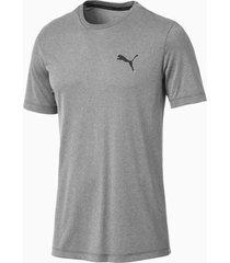 active t-shirt voor heren, grijs, maat s | puma