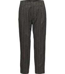 sim herringb trousers byxa med raka ben grå filippa k