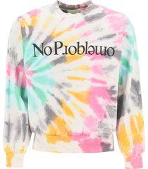 aries sweatshirt with no try print