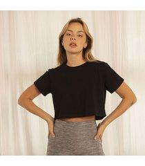 tshirt negra para mujer hele t-shirt hele-negro-s